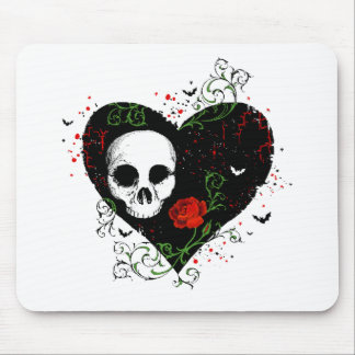 Gothic heart mousepads