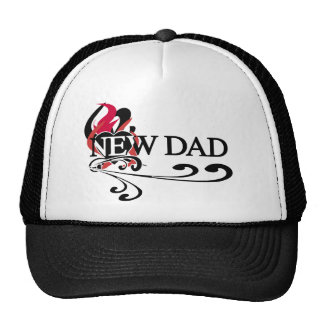Gothic Heart New Dad Cap
