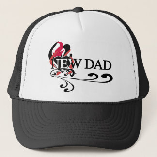 Gothic Heart New Dad Trucker Hat
