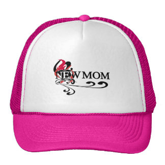 Gothic Heart New Mom Tshirts and Gifts Mesh Hats