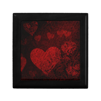 Gothic Heart Red Style Gift Box