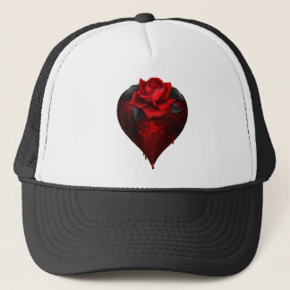 Gothic Heart Trucker Hat