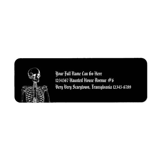 Gothic Horror Skeleton