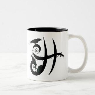 'Gothic Initial H' Mug
