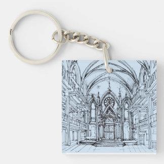 Gothic interior Orensanz Acrylic Key Chain