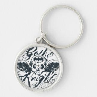 Gothic Knight Skull Key Ring