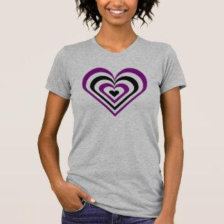 Gothic Layered Heart Tshirts