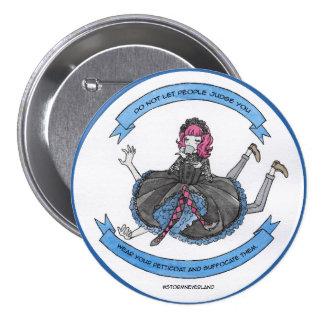 Gothic Lolita 7.5 Cm Round Badge