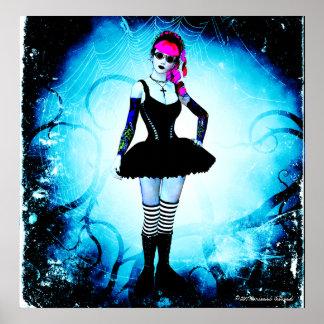 Gothic Lolita Ballerina Thorn Poster