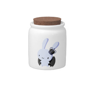 Gothic Lolita Bunny Candy Jars
