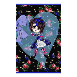 Gothic Lolita Saphire blue girly gifts Stationery