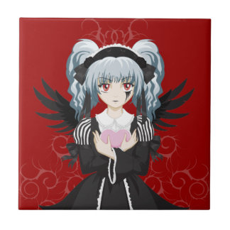 Gothic Lolita Small Square Tile