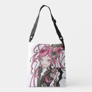 gothic lolita Yumi double sided black & pink bag