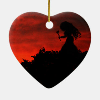 Gothic Love Fairy Christmas Ornament