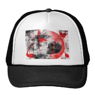 gothic love mesh hats