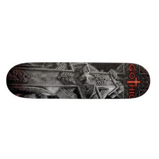 gothic_man custom skate board