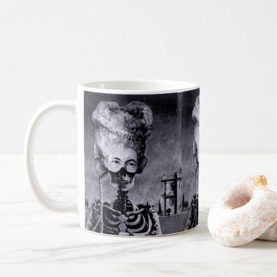 Gothic Masked Skeleton Mug