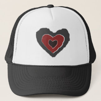 Gothic Melting Love Heart Hat