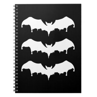 Gothic Melting Vampire Bats Notebook
