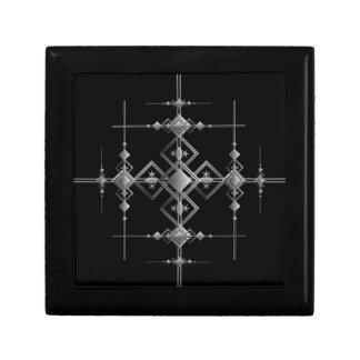 Gothic metallic pattern. gift box