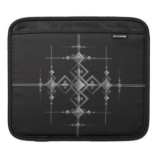 Gothic metallic pattern. iPad sleeve
