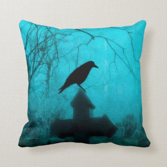 Gothic Mist Of Blue Cushion