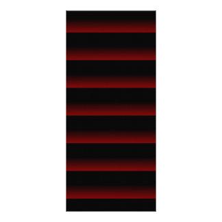 Gothic Moody Red 10 Cm X 23 Cm Rack Card