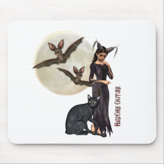 Gothic - Night Elf Mouse Pads