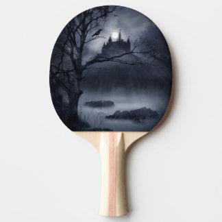 Gothic Night Fantasy Ping Pong Paddle