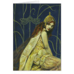 Gothic Nymph Greetings Card