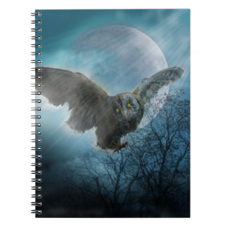 Gothic Owl Notebook