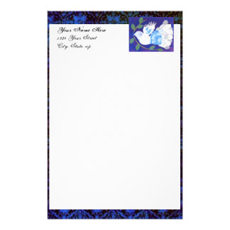 Gothic Peace Spirit Customized Stationery