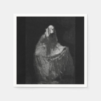 Gothic phantom disposable napkin