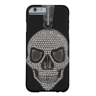 Gothic Printed Diamond Skull Barely There iPhone 6 Case