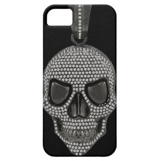 Gothic Printed Diamond Skull iPhone 5 Case