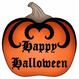 Gothic pumpkin Autumn Happy Halloween Photo Sculpture Magnet