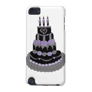 Gothic Purple Birthday Cake iPod Touch (5th Generation) Cases