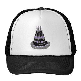 Gothic Purple Birthday Cake Hat