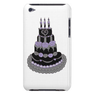 Gothic Purple Birthday Cake iPod Touch Cover