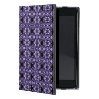 Gothic Purple Lace Fractal Pattern Cover For iPad Mini