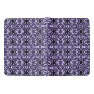 Gothic Purple Lace Fractal Pattern Extra Large Moleskine Notebook