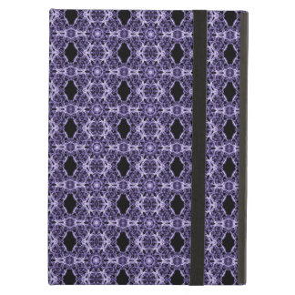 Gothic Purple Lace Fractal Pattern iPad Air Cover