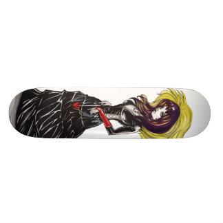 Gothic Purrr Skate Deck