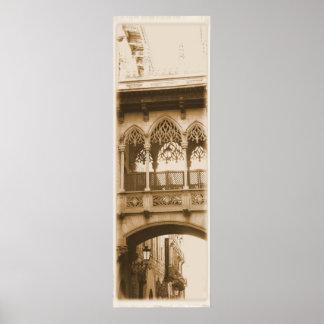Gothic Quarter Barcelona Poster