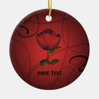 Gothic romance christmas ornament