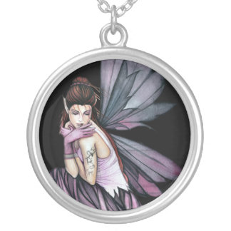 Gothic Romantic Fairy Pendant Necklace