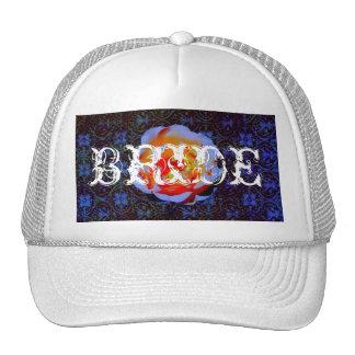 Gothic Rose Bride Hat