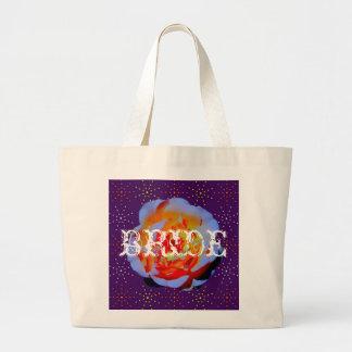 Gothic Rose Dotty BRIDE bag