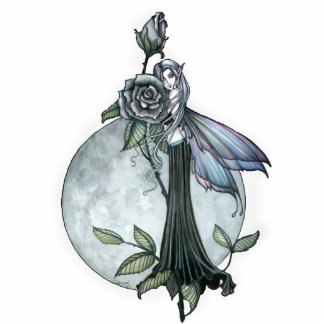 Gothic Rose Fairy Fantasy Photo Sculpture