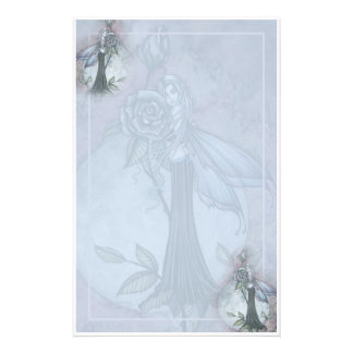 Gothic Rose Fairy Stationary by Molly Harrison Personalised Stationery